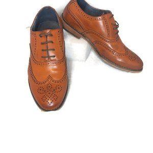 BRUNO MARC big boys dress shoes sz. 4